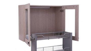 有效的橱柜拉篮收纳,厨房五金帮您收纳厨房!