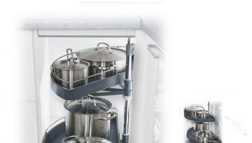 一日三餐的厨房空间,通过钢铁侠收纳即可整洁如新
